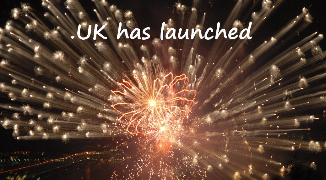 .UK domain names available from today